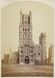 Ely Cathedral, West Front